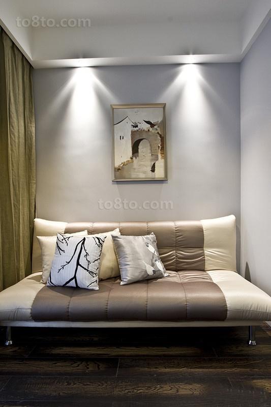 最新小户型简约卧室装修效果图大全2014图片