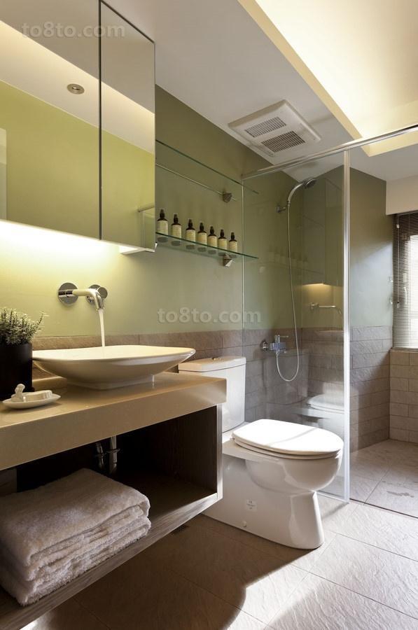 浪漫家让我们很温馨的现代风格装修效果图卫生间图片