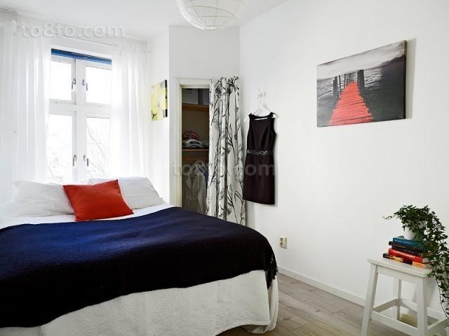 50平米小户型北欧风格卧室装修效果图大全2014图片