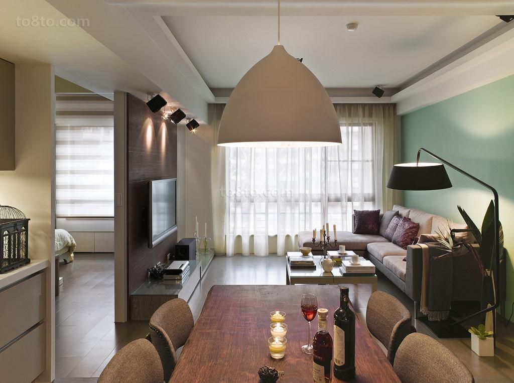 浪漫的温馨的美式风格装修效果图客厅图片