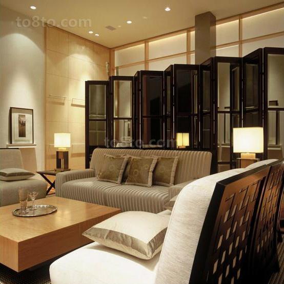 四居室客厅装修效果图大全2014