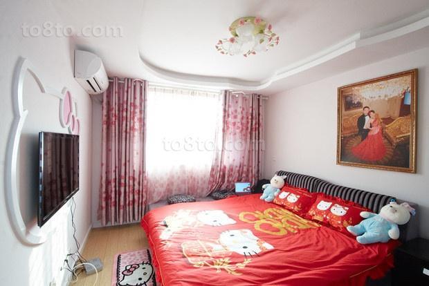 70平米小户型婚房 卧室装修效果图大全2012图片