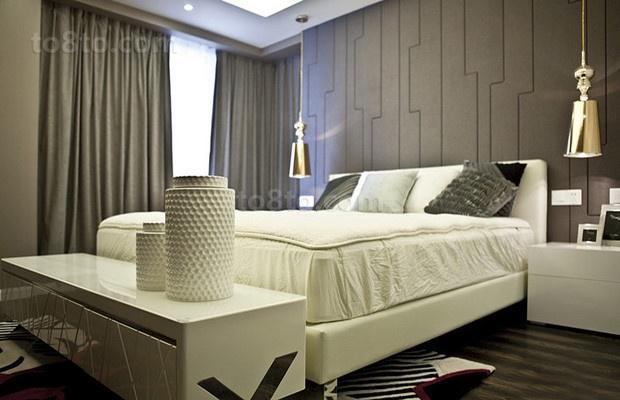 90平米小户型卧室装修效果图大全2014图片