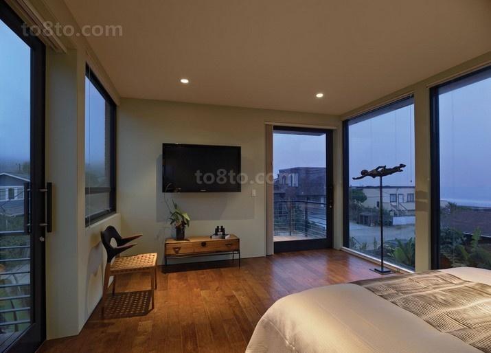 黎明前的黑夜现代装修风格卧室图片