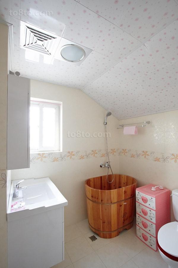 70平米小户型婚房 卫生间装修效果图大全2012图片