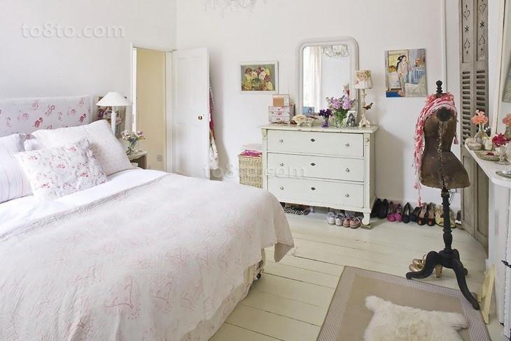 80后的小清新简约风格装修卧室图片