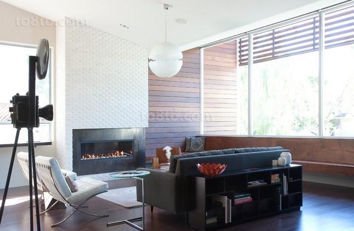 70万搞定的美式风格装修客厅图片