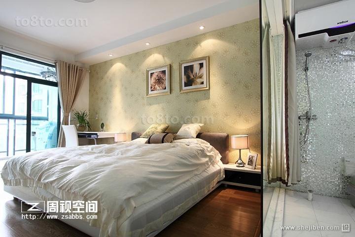 小户型现代简约风格卧室装修效果图大全2012图片