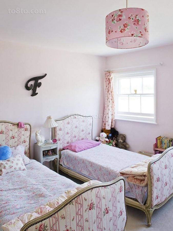 80后的小清新简约风格装修儿童房图片