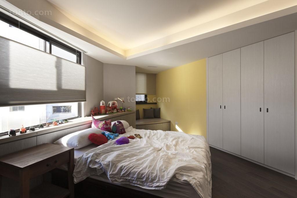 浪漫家让我们很温馨的现代风格装修效果图卧室图片
