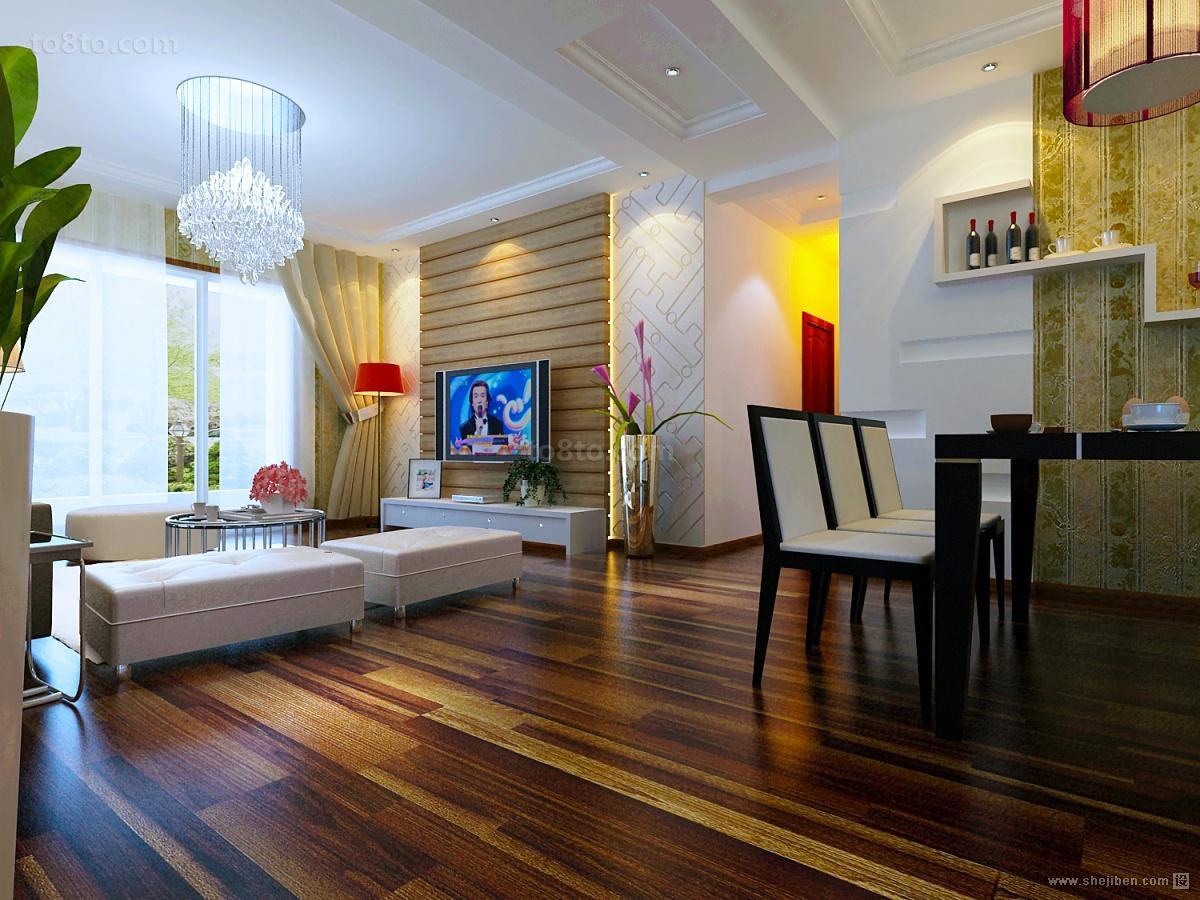 90平米小户型客厅玄关装修效果图