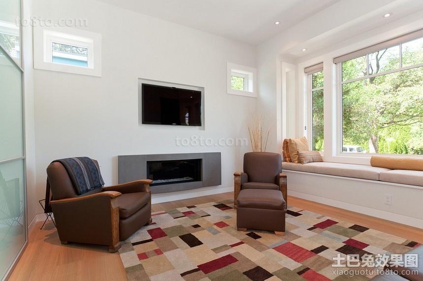 两房两厅客厅装修效果图大全2014图片