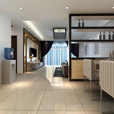 热门120平米四居客厅混搭欣赏图片大全