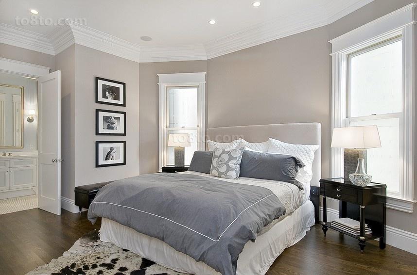白白的简约风格装修卧室图片