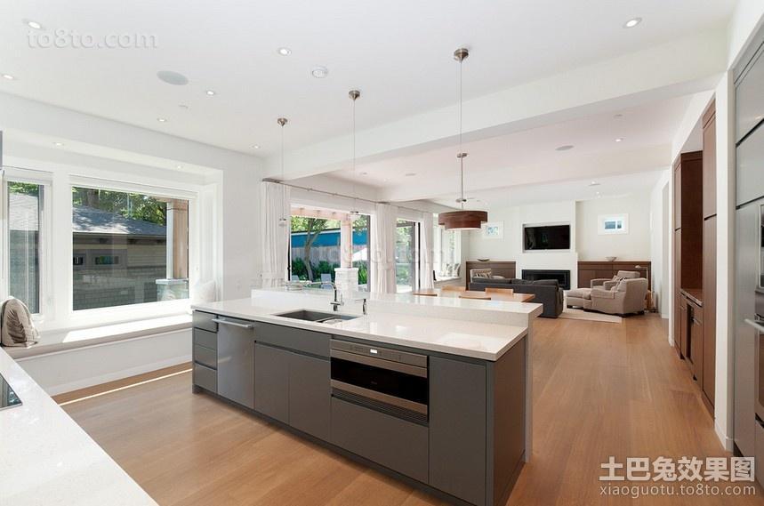 两房两厅厨房装修效果图大全2014图片