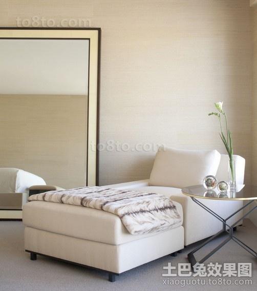 简朴中带着华丽的现代风格休闲区装修效果图