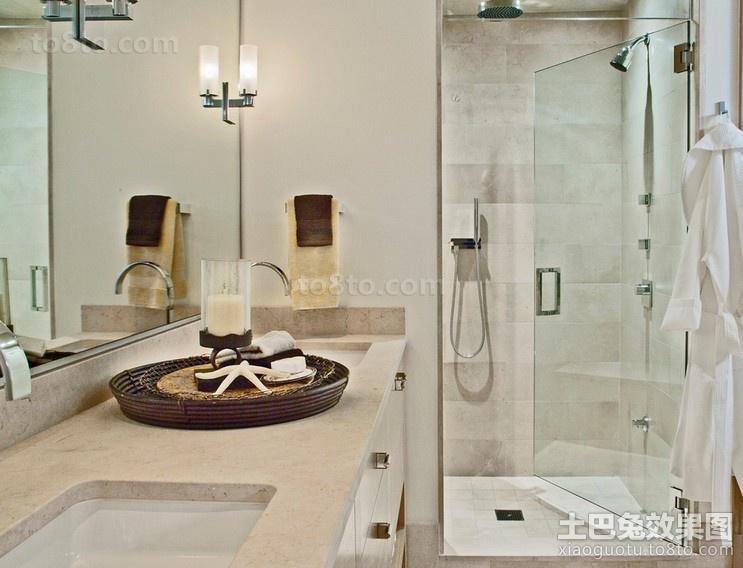 很时尚的海景房现代风格卫生间装修效果图