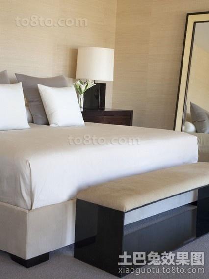 简朴中带着华丽的现代风格卧室装修效果图