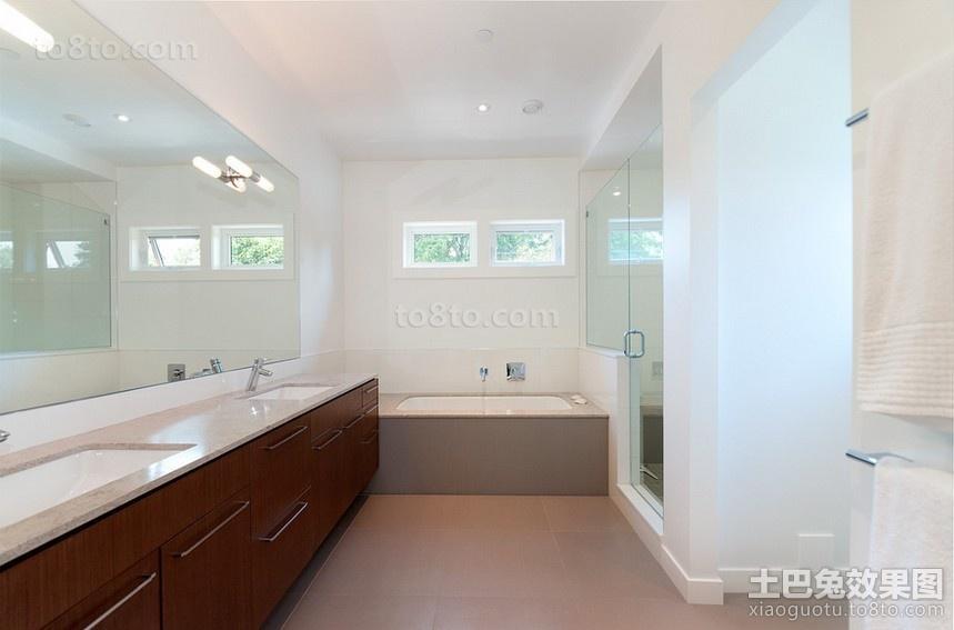 两房两厅卫生间装修效果图大全2014图片