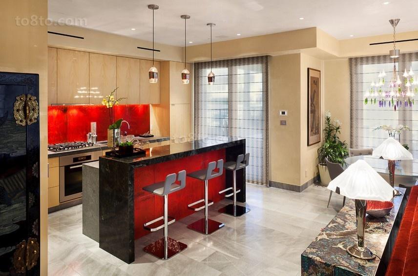 浪漫的三房两厅厨房装修效果图大全2012图片