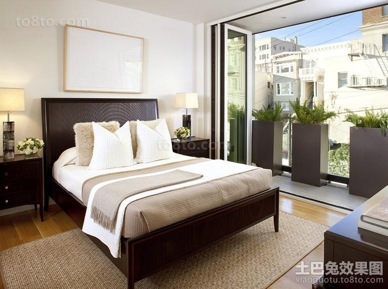 复式楼装修效果图 简约舒适的卧室欣赏