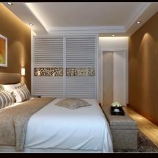 2018面积129平现代四居卧室装修效果图片欣赏
