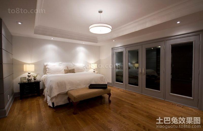 四居室主卧室装修效果图大全2014图片