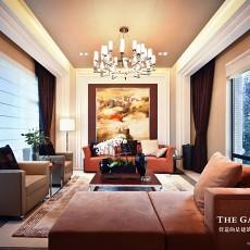 精选面积87平欧式二居客厅实景图片大全