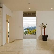115平米现代别墅玄关装修设计效果图片