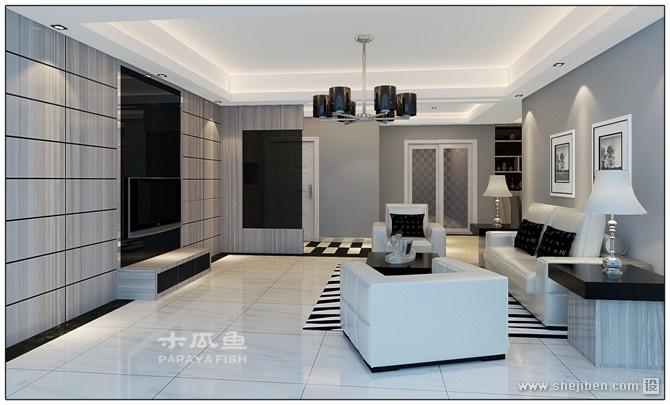 精选126平米四居客厅混搭装修欣赏图片