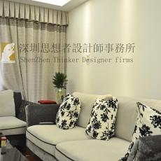 中式二居客厅装修效果图
