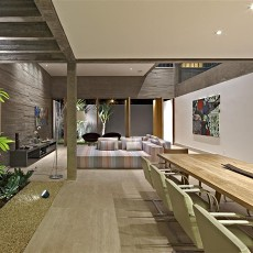 精美140平米现代别墅餐厅装修设计效果图片欣赏
