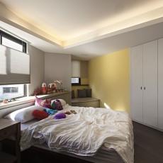 144平米四居卧室混搭装修实景图