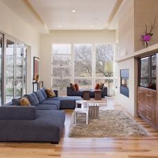 别墅客厅装修设计效果图大全
