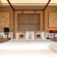 精选复式卧室中式实景图片大全