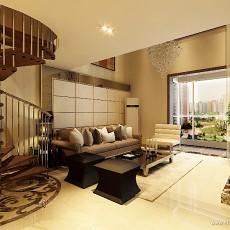 精选139平米地中海复式客厅装饰图片