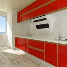 201871平米二居厨房混搭装修设计效果图片大全