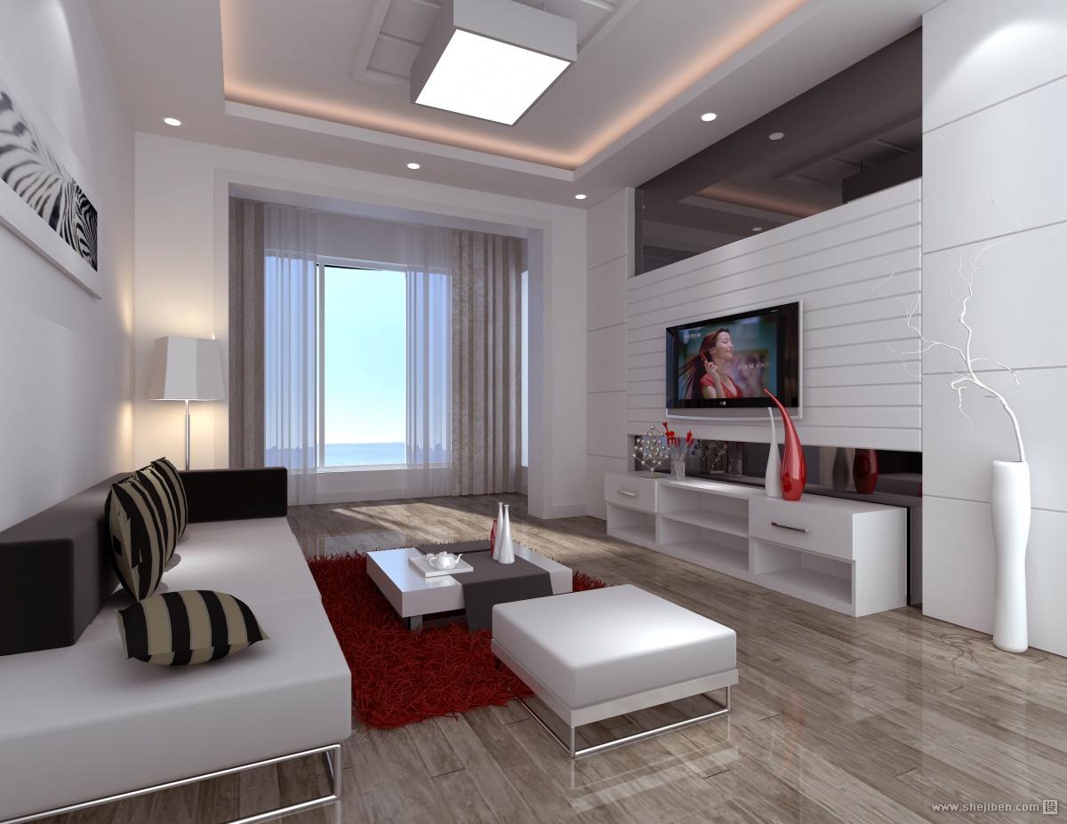精选面积71平混搭二居客厅效果图片欣赏