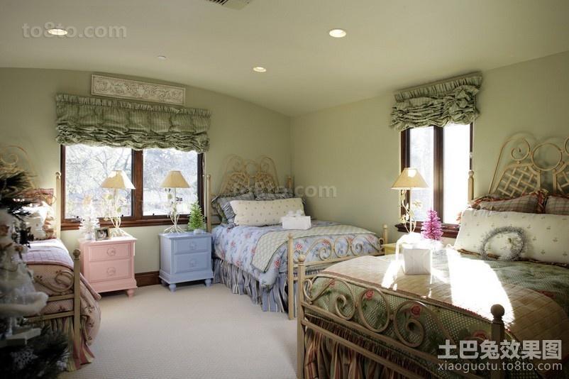 浪漫温馨的卧室装修效果图大全2012图片