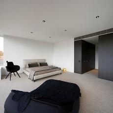 精美128平米现代别墅卧室装修效果图片欣赏