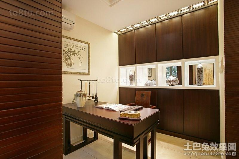 中式风格书房古典家具图片