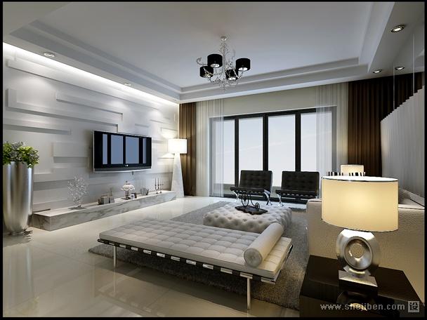 简约主义客厅设计装饰图片