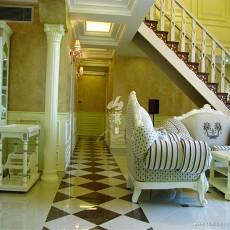 精美欧式别墅玄关装修效果图片