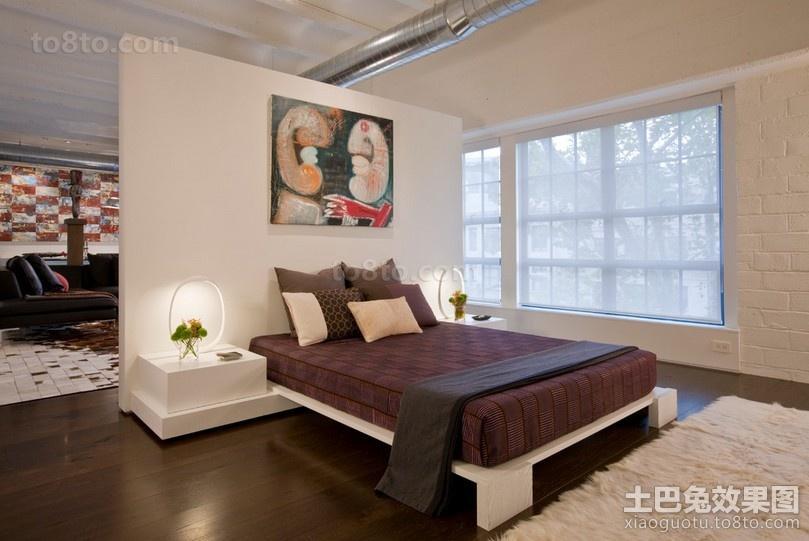 豪华大气的后现代风格别墅装修效果图卧室图片