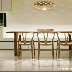 118平方现代别墅餐厅装修设计效果图片欣赏