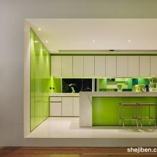 精选116平米现代别墅厨房装修设计效果图片大全