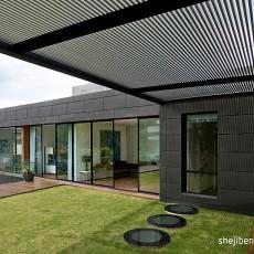 热门133平米现代别墅阳台装修设计效果图