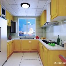 2018精选94平米三居厨房混搭装修效果图片大全