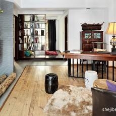 2018精选79平米现代小户型客厅装修设计效果图片欣赏