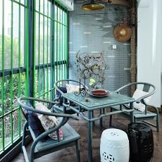 精美现代小户型阳台实景图片欣赏